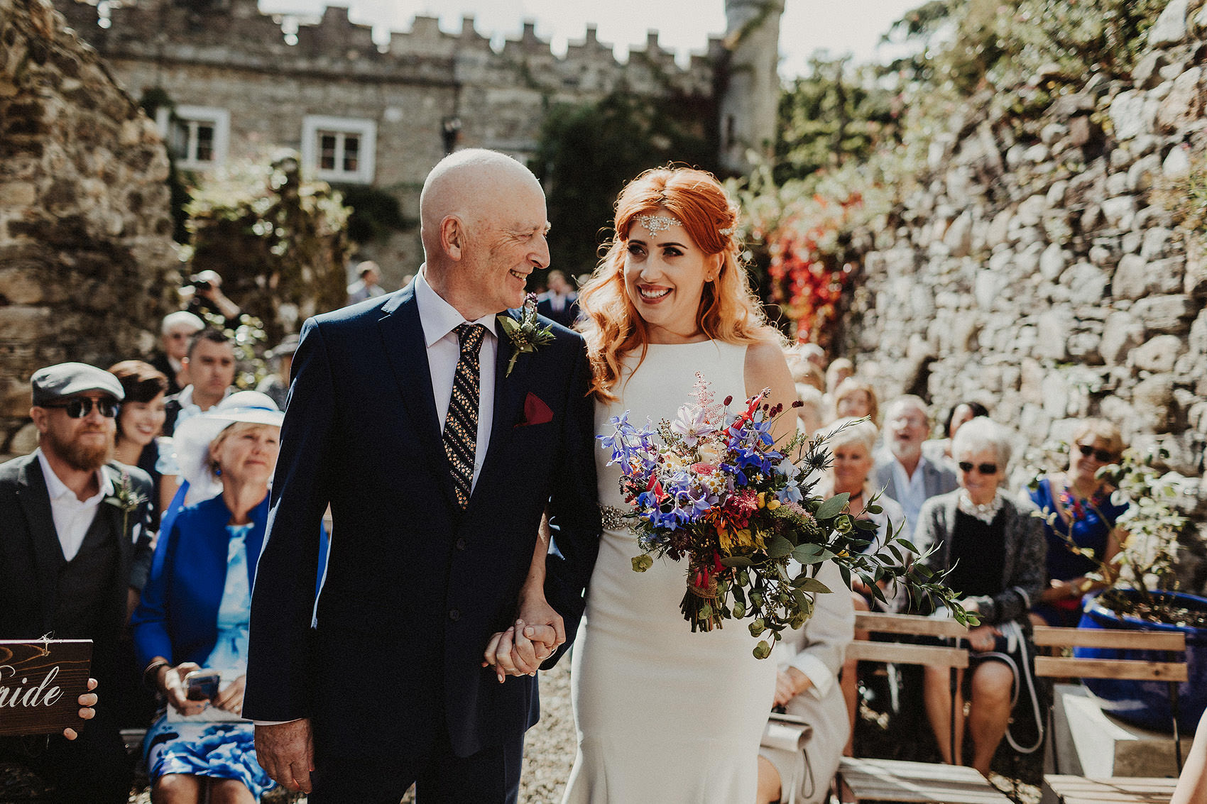 Huntington Castle & Gardens wedding | Ruth & Jason 83