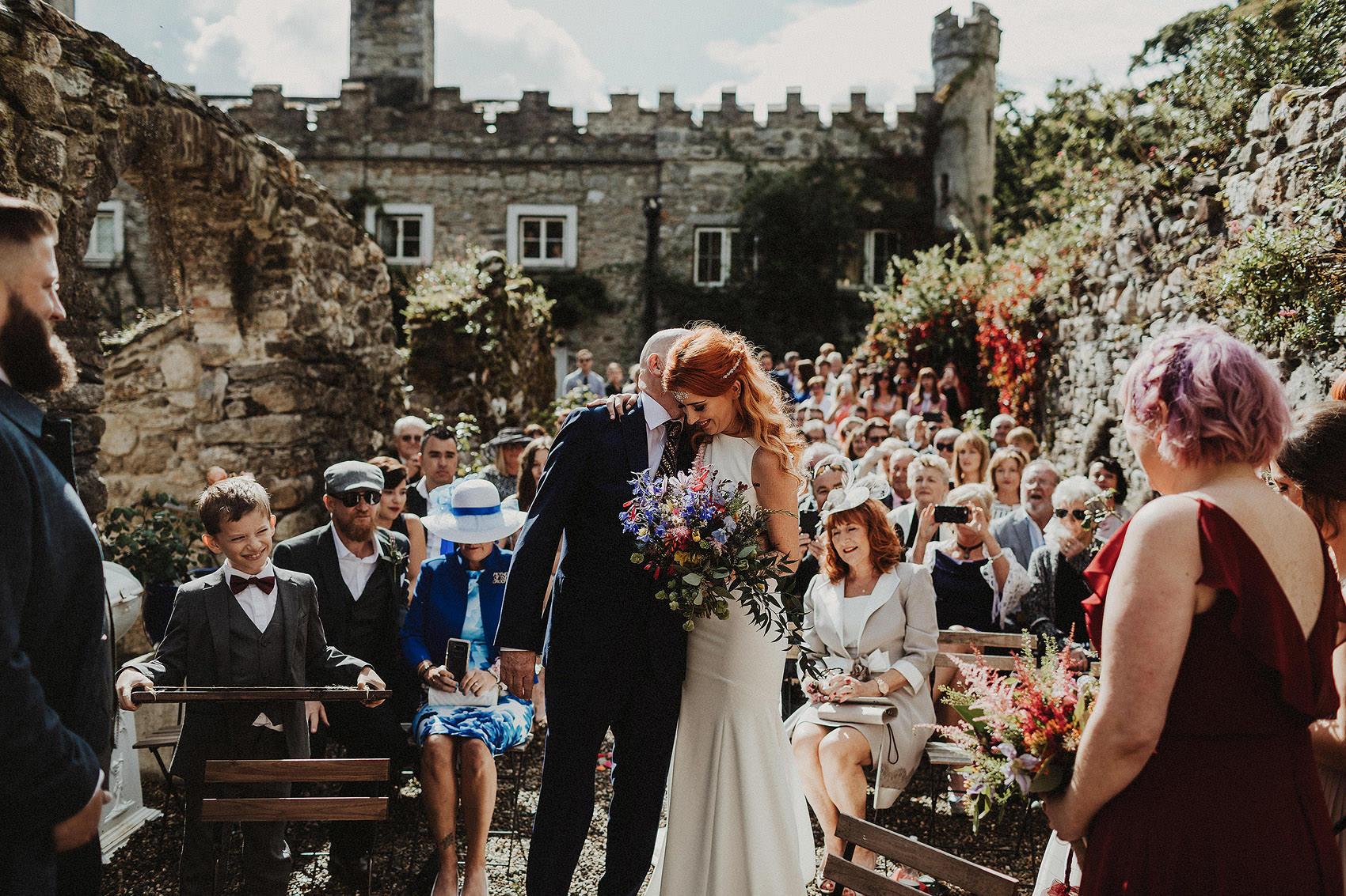 Huntington Castle & Gardens wedding | Ruth & Jason 84