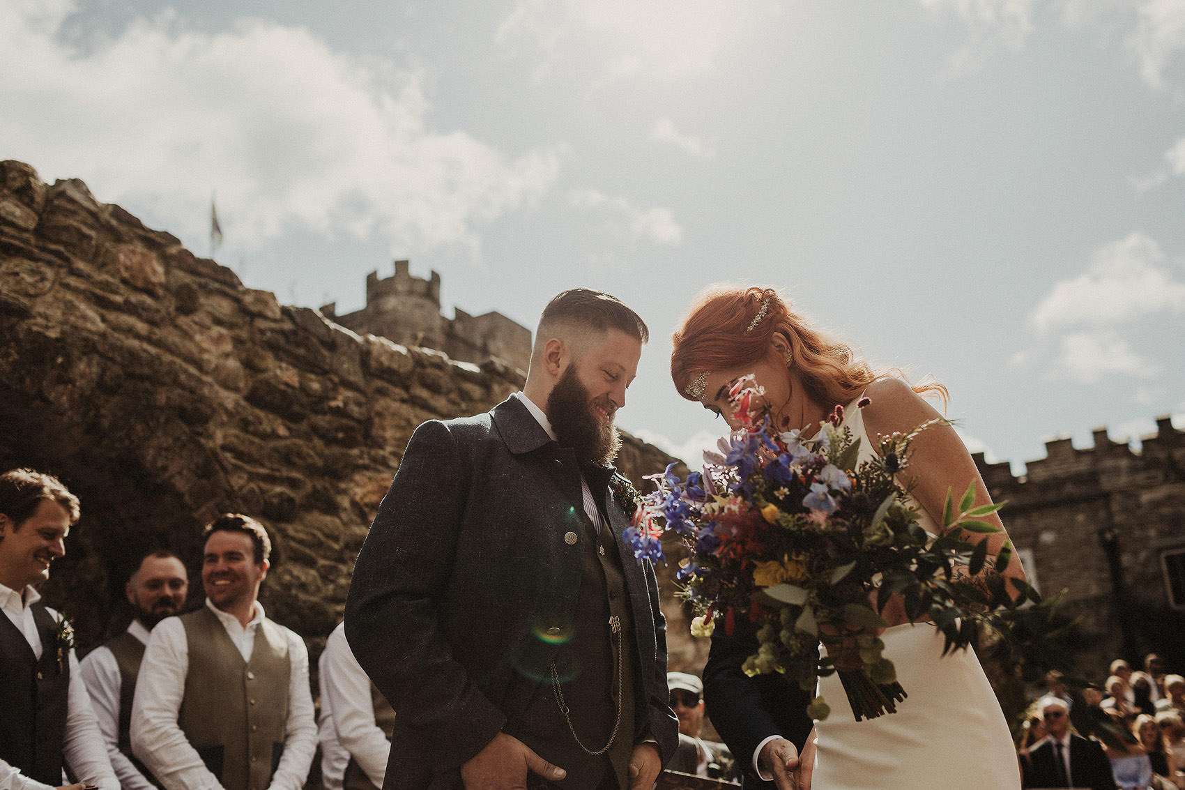 Huntington Castle & Gardens wedding | Ruth & Jason 85