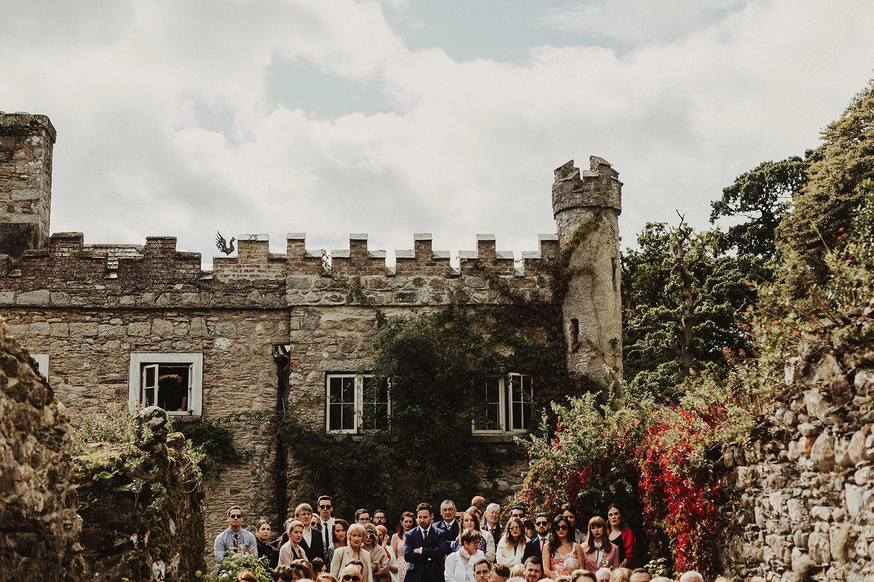Huntington Castle & Gardens wedding | Ruth & Jason 89