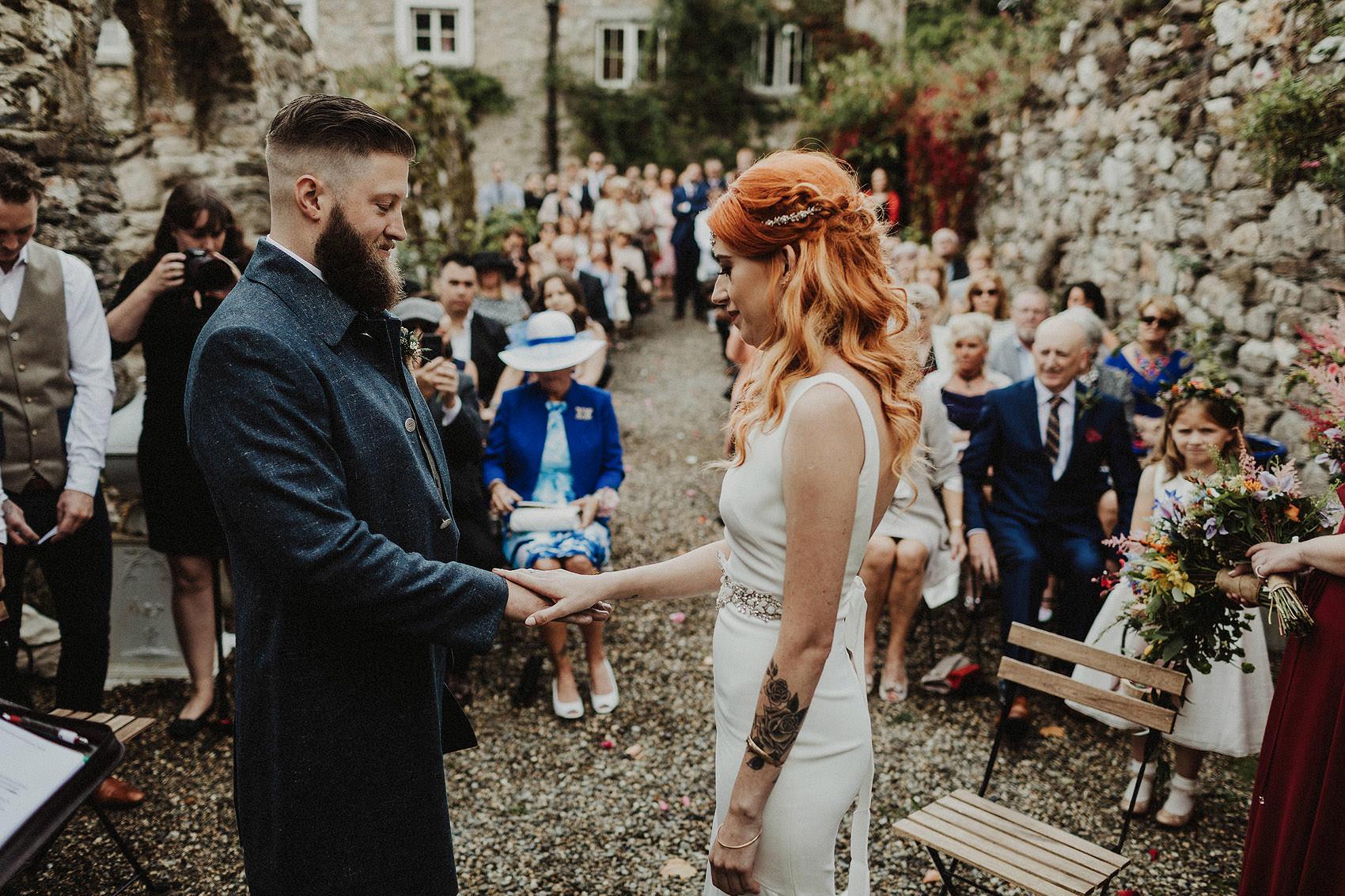 Huntington Castle & Gardens wedding | Ruth & Jason 90