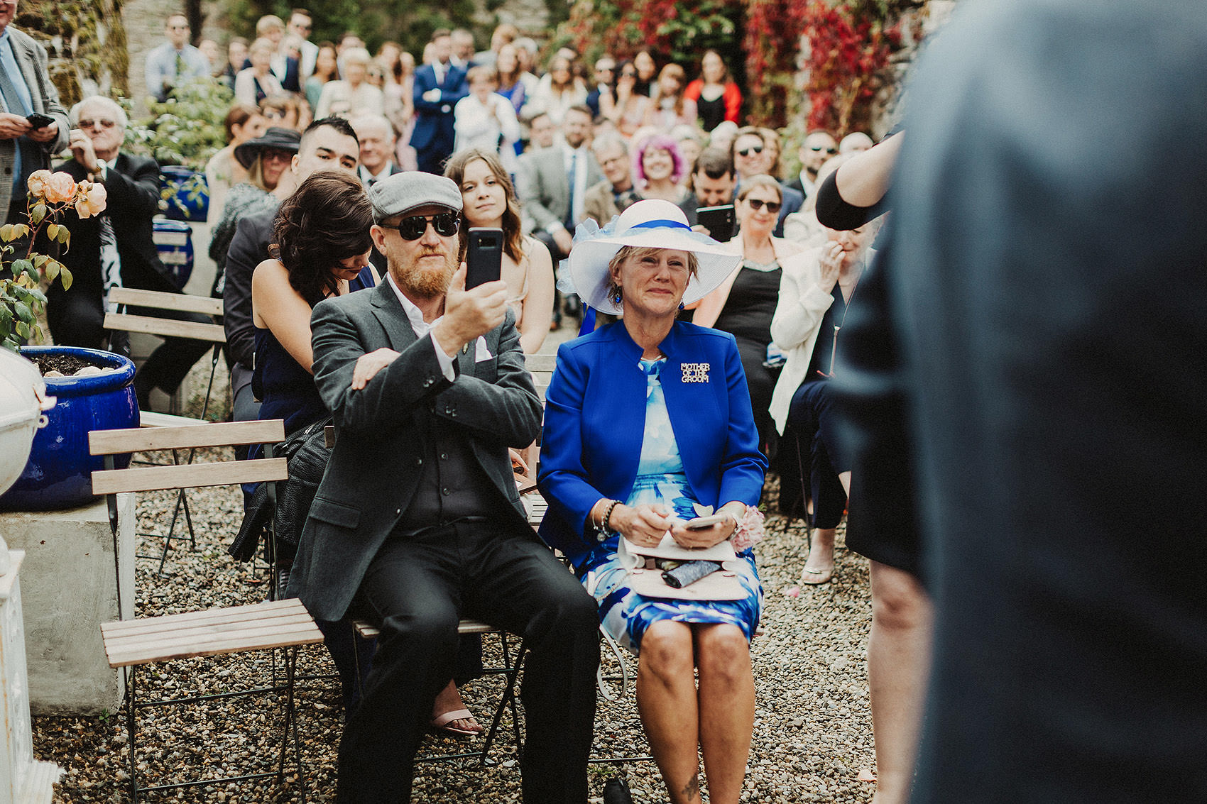 Huntington Castle & Gardens wedding | Ruth & Jason 91