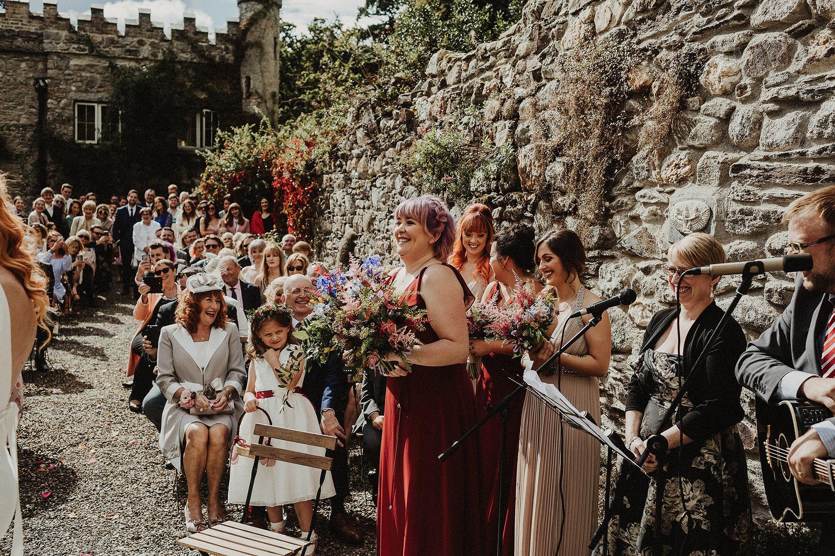 Huntington Castle & Gardens wedding | Ruth & Jason 92