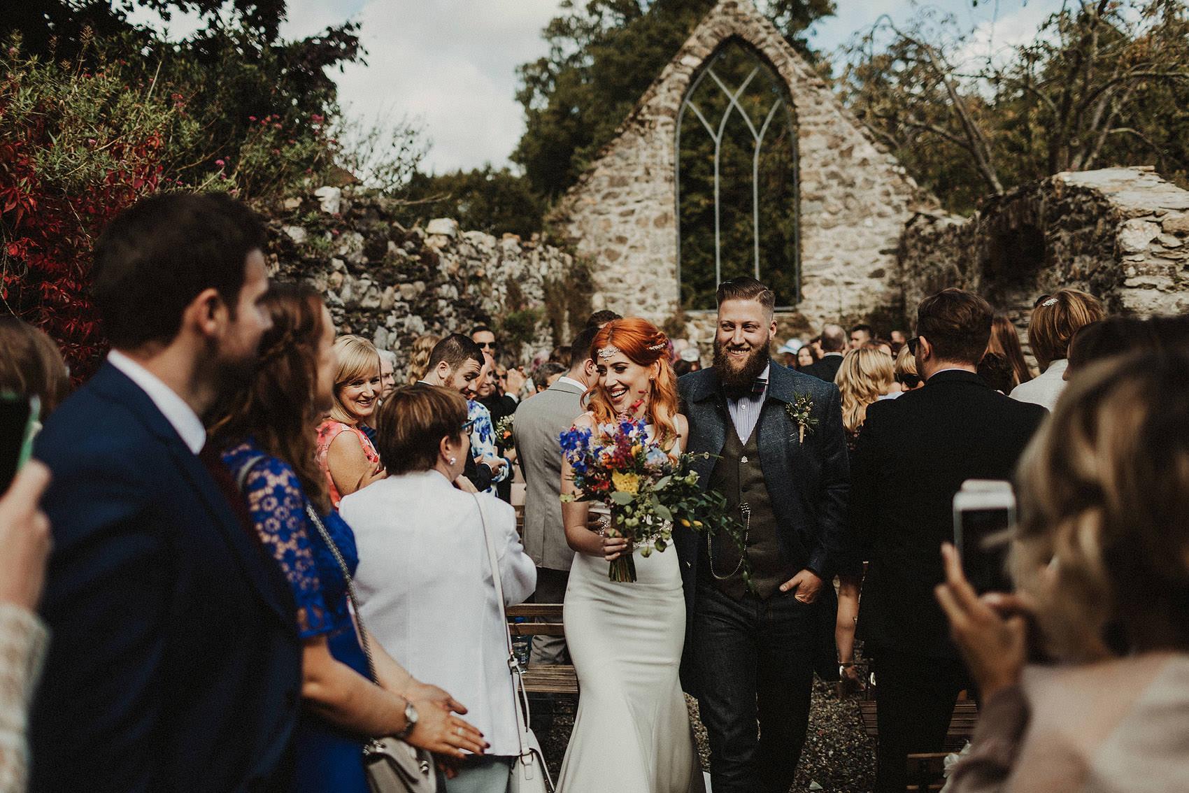 Huntington Castle & Gardens wedding | Ruth & Jason 95