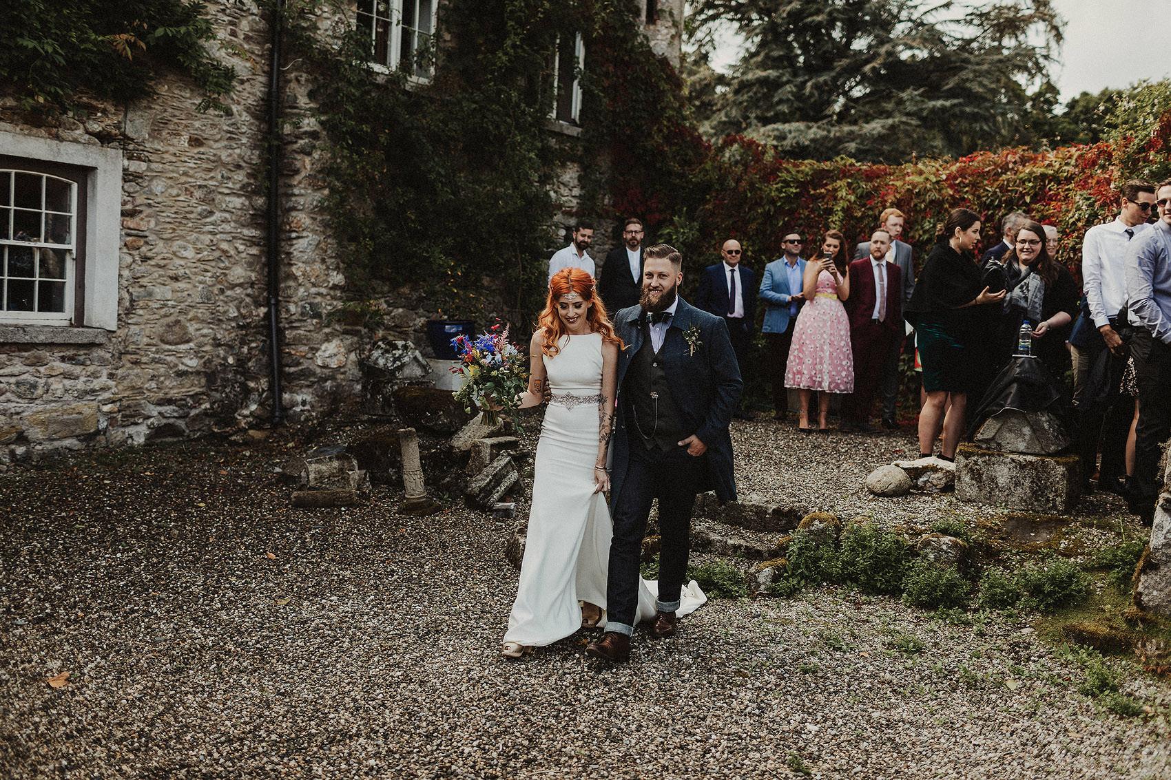 Huntington Castle & Gardens wedding | Ruth & Jason 96