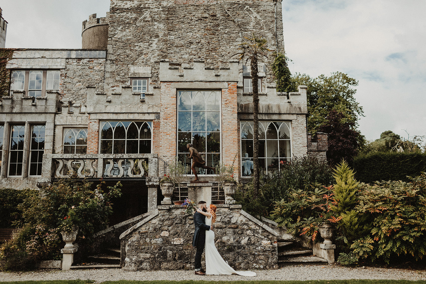 Huntington Castle & Gardens wedding | Ruth & Jason 97