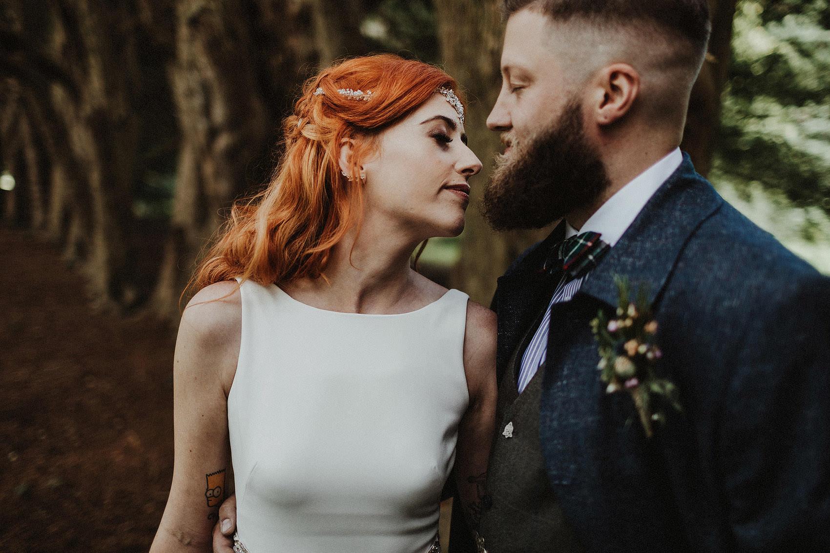 Huntington Castle & Gardens wedding | Ruth & Jason 101
