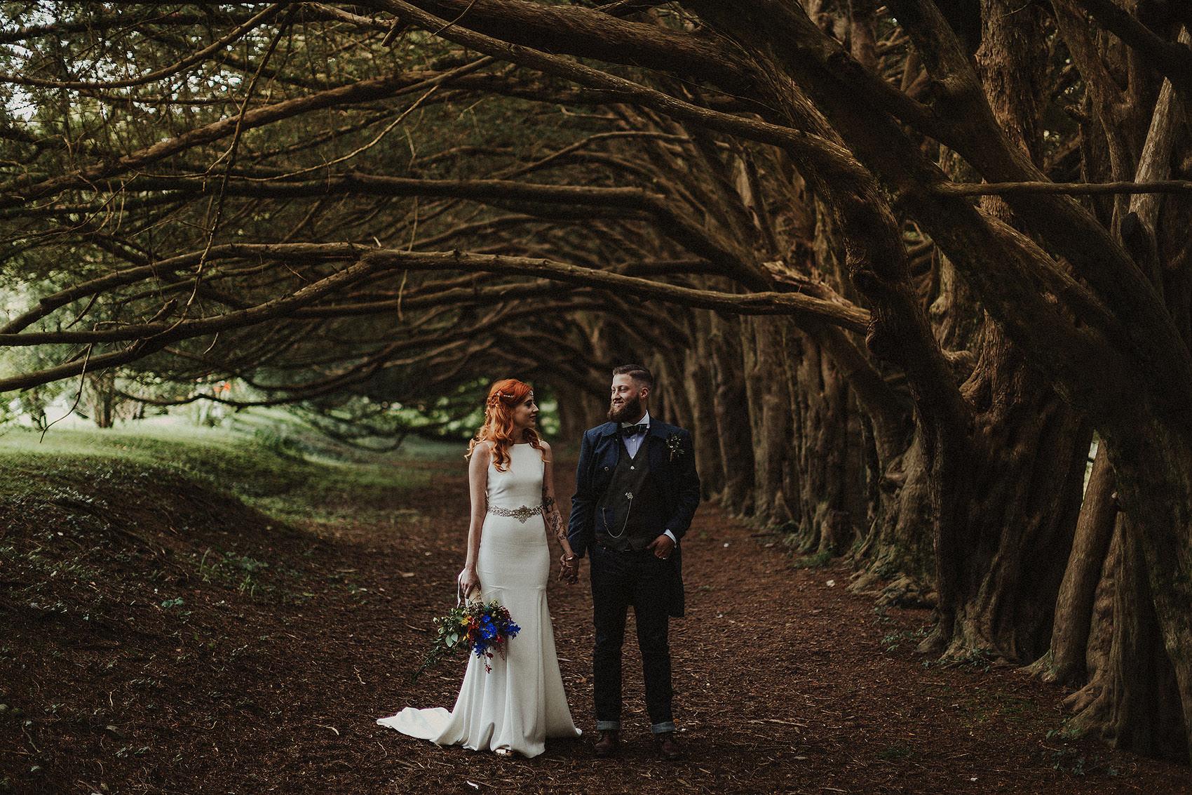 Huntington Castle & Gardens wedding | Ruth & Jason 102