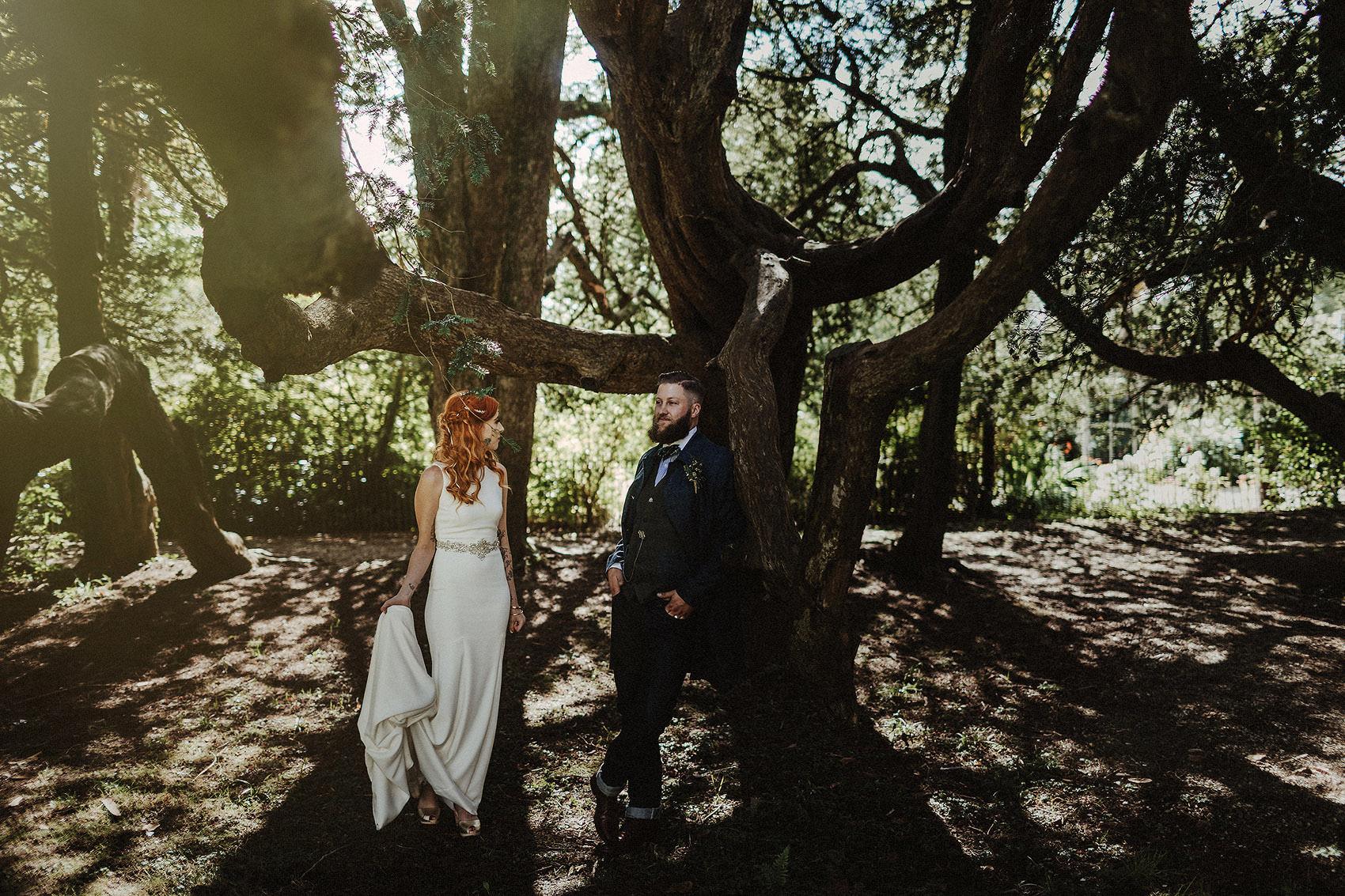 Huntington Castle & Gardens wedding | Ruth & Jason 106