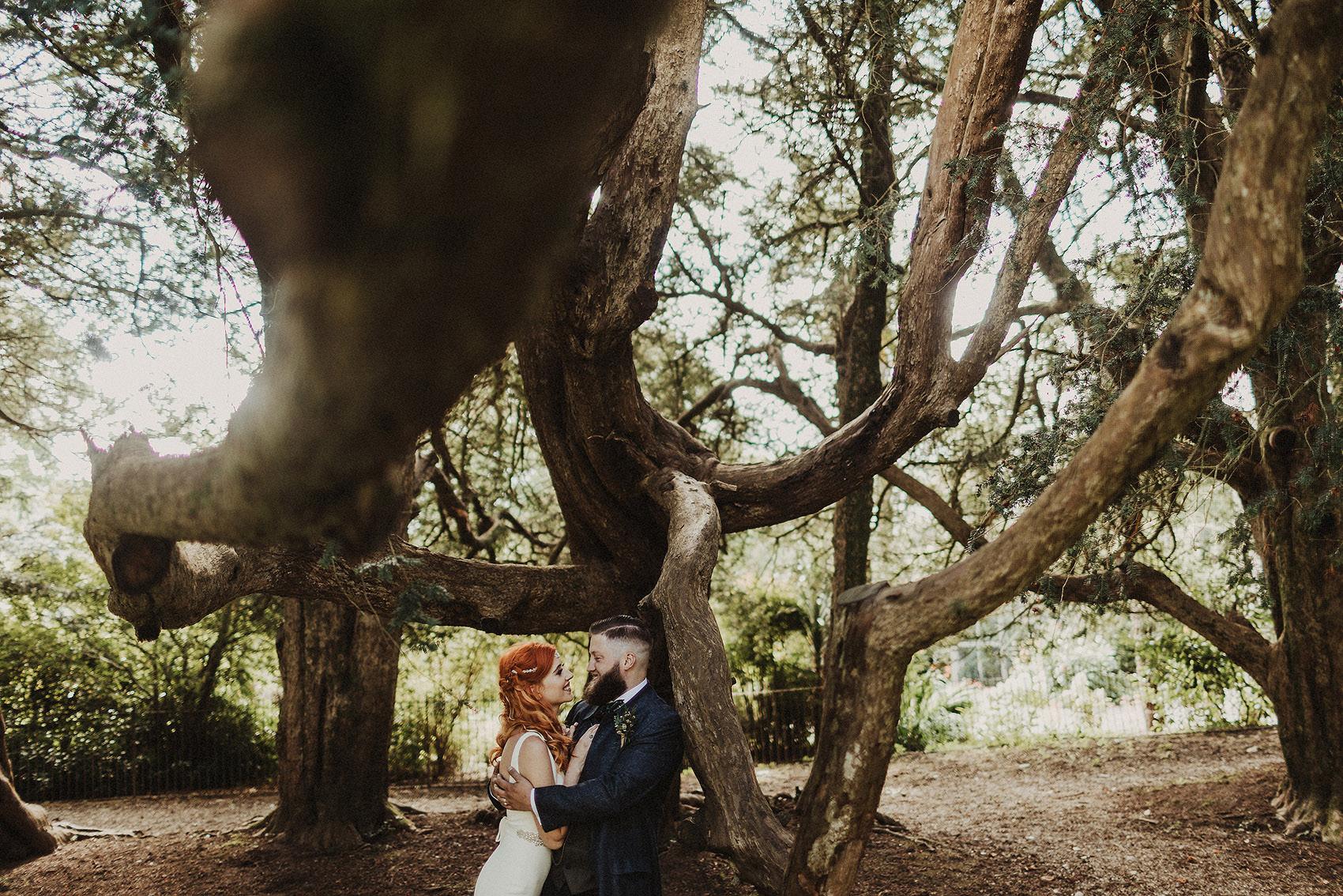 Huntington Castle & Gardens wedding | Ruth & Jason 107