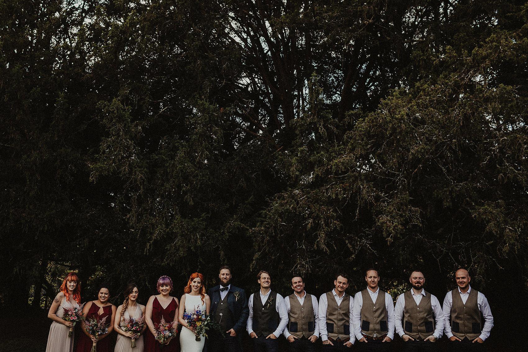 Huntington Castle & Gardens wedding | Ruth & Jason 114