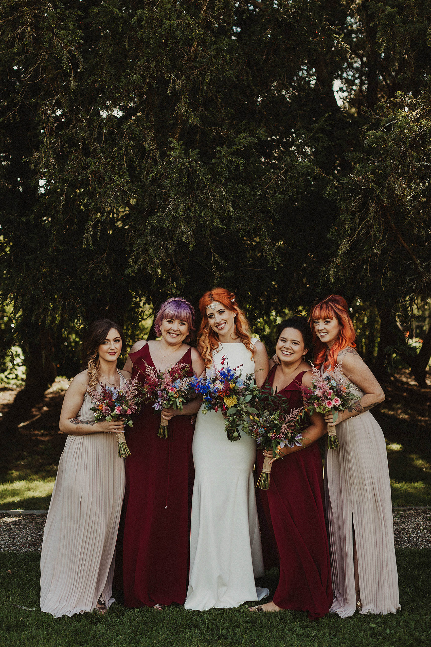 Huntington Castle & Gardens wedding | Ruth & Jason 115