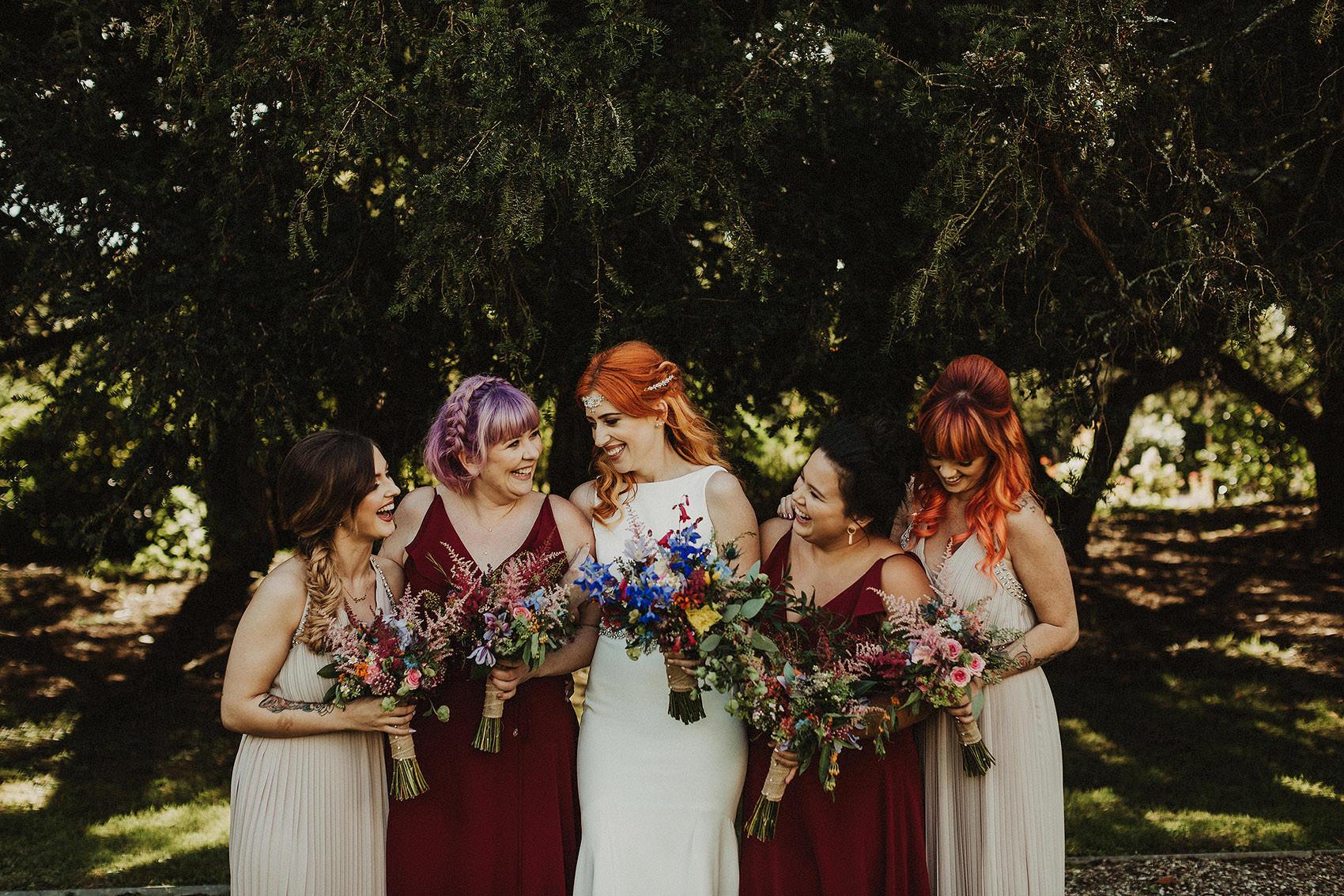 Huntington Castle & Gardens wedding | Ruth & Jason 116
