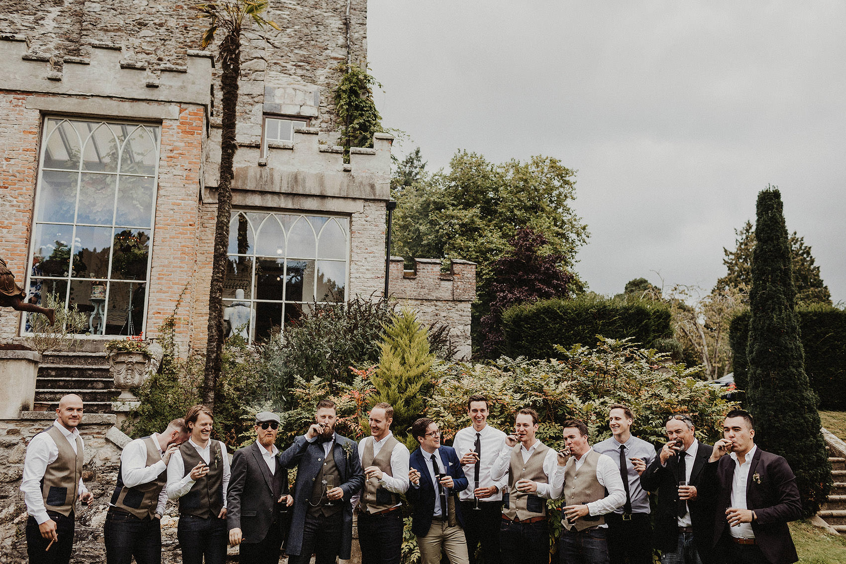 Huntington Castle & Gardens wedding | Ruth & Jason 123