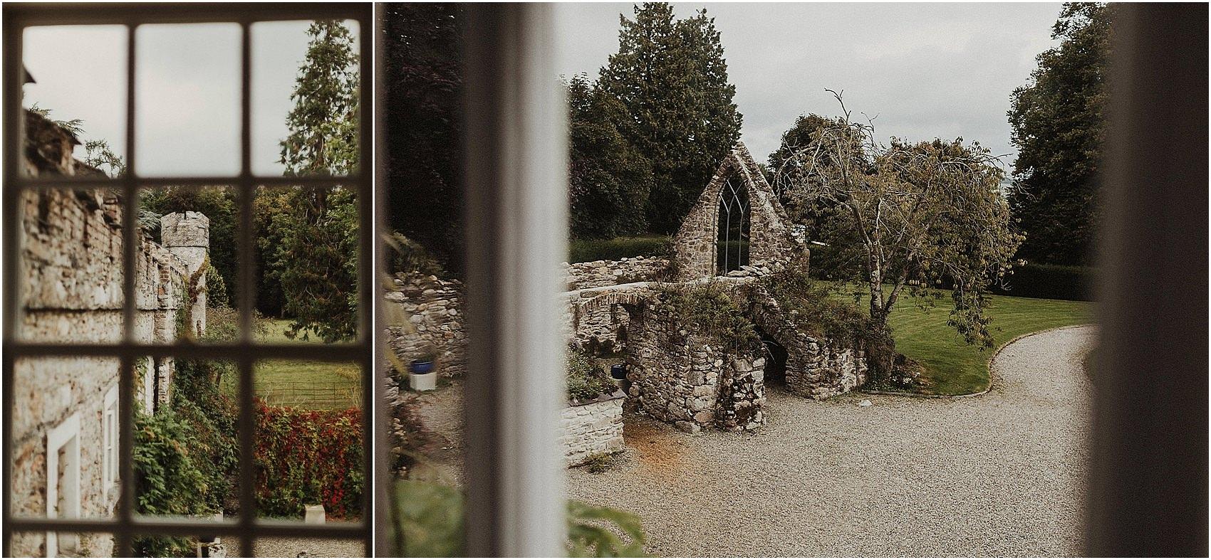 Huntington Castle & Gardens wedding | Ruth & Jason 16