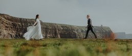 Irish Cliffs of Moher wedding Elopement shoot 1