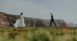 Irish Cliffs of Moher wedding Elopement shoot 2