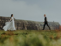 Irish Cliffs of Moher wedding Elopement shoot 186