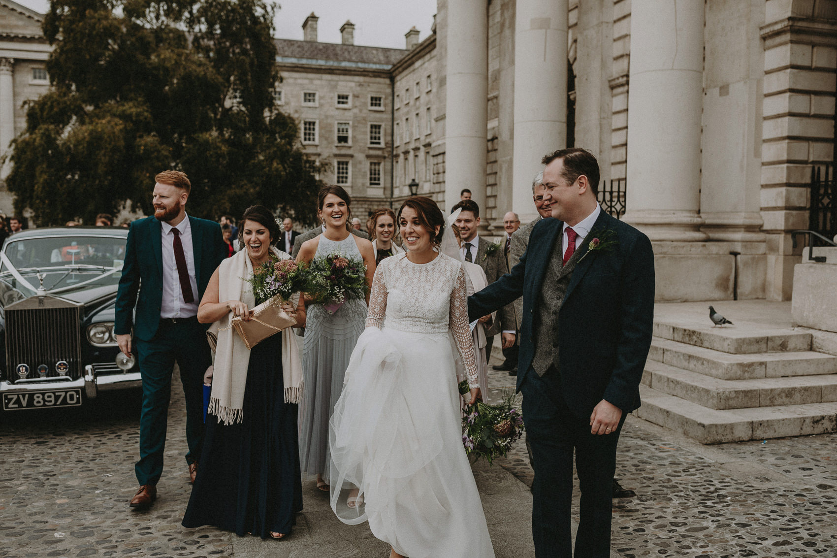 Jessica & Vincent wedding at Martinstown House 60