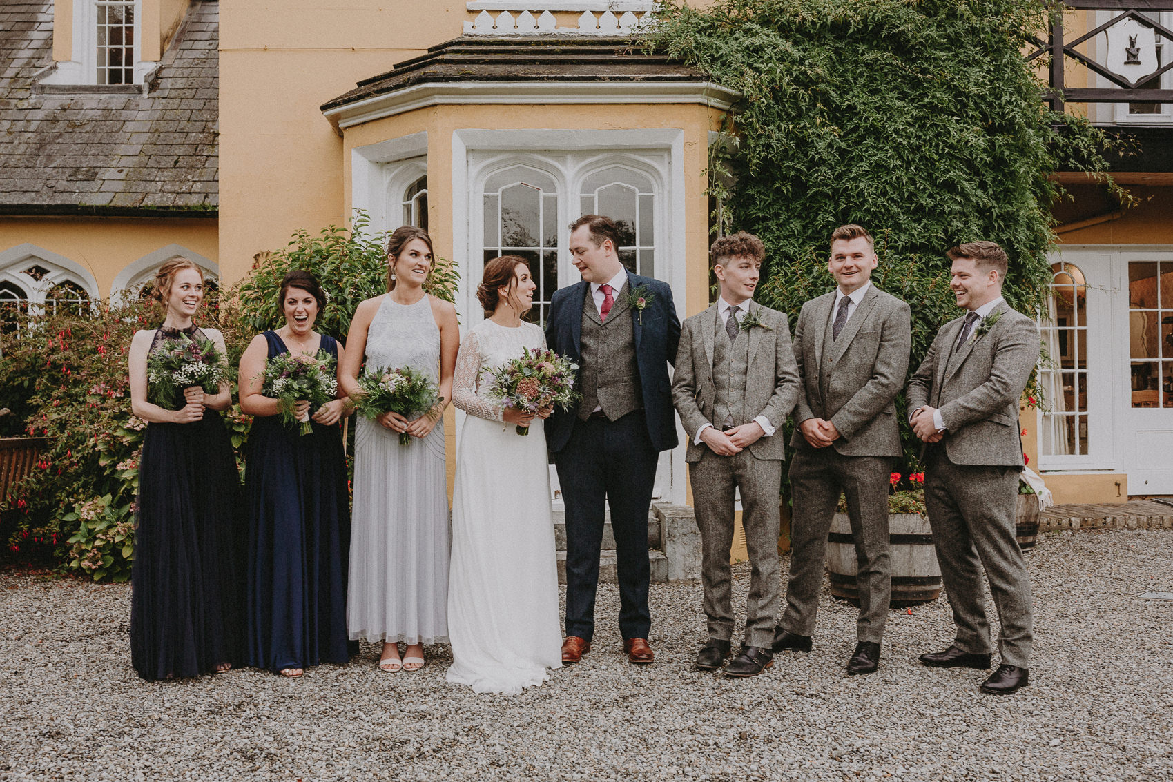 Jessica & Vincent wedding at Martinstown House 122