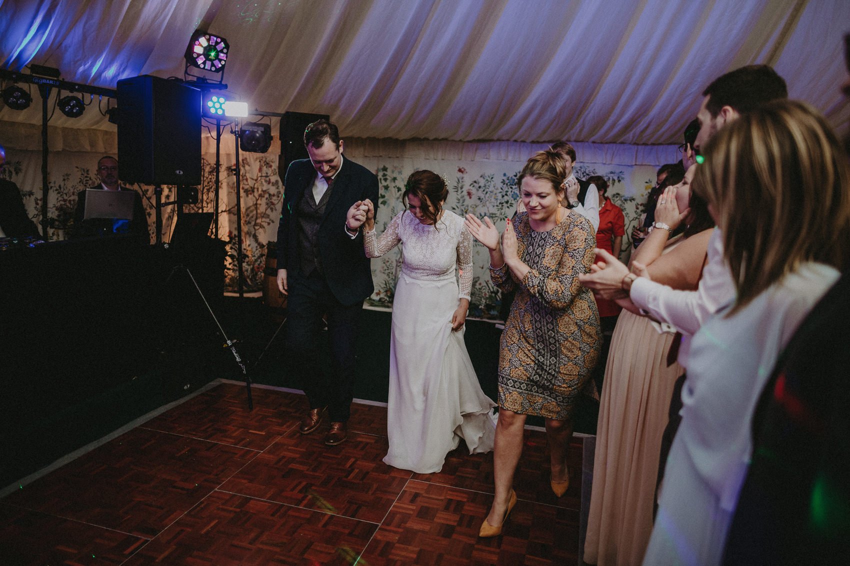 Jessica & Vincent wedding at Martinstown House 172