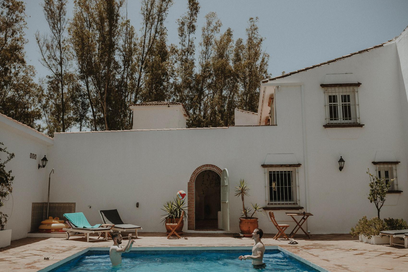 Sarah & Bill | Summer wedding at Cortijo Rosa Blanca | Marbella - Spain 11