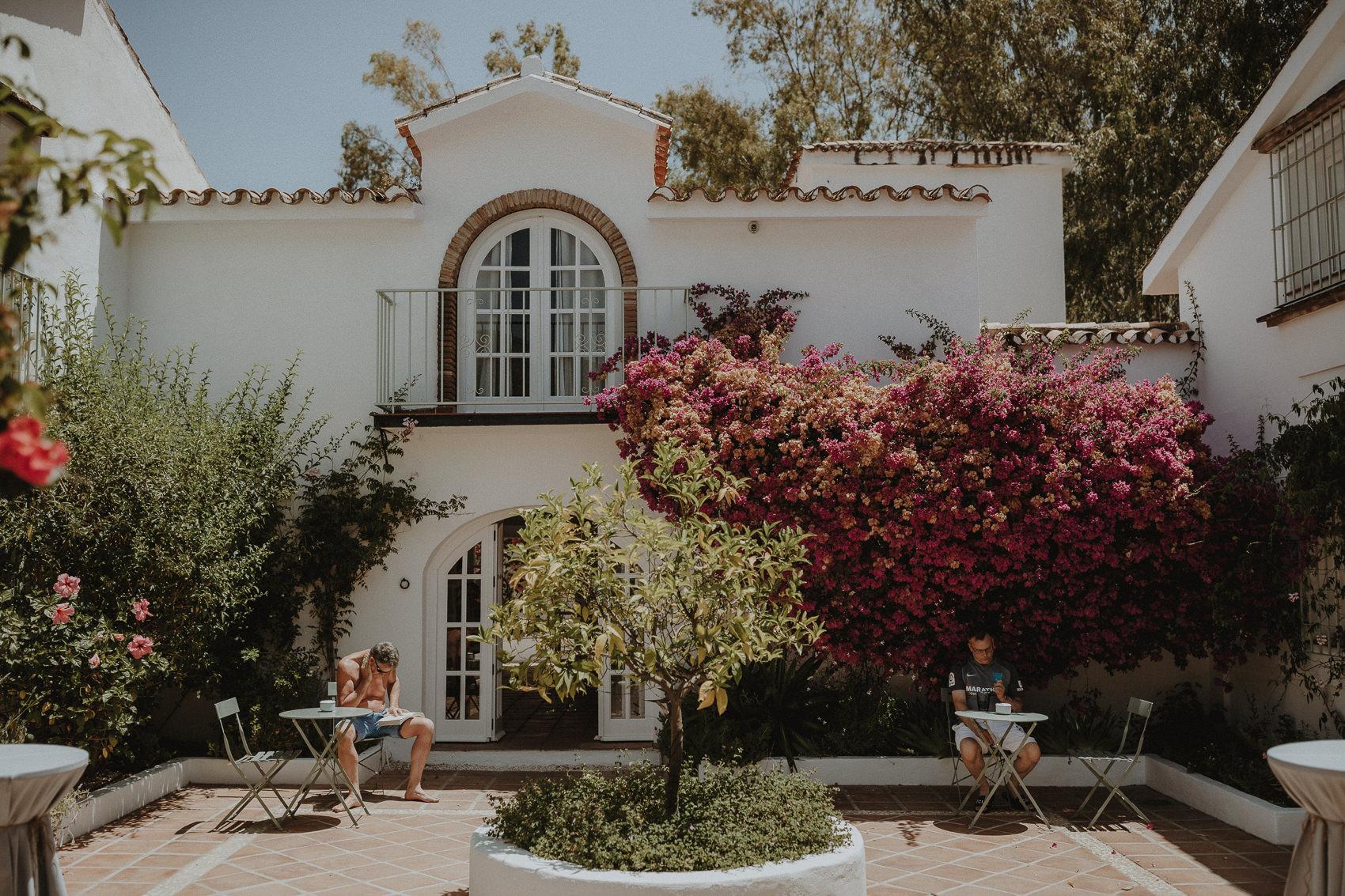 Sarah & Bill | Summer wedding at Cortijo Rosa Blanca | Marbella - Spain 1