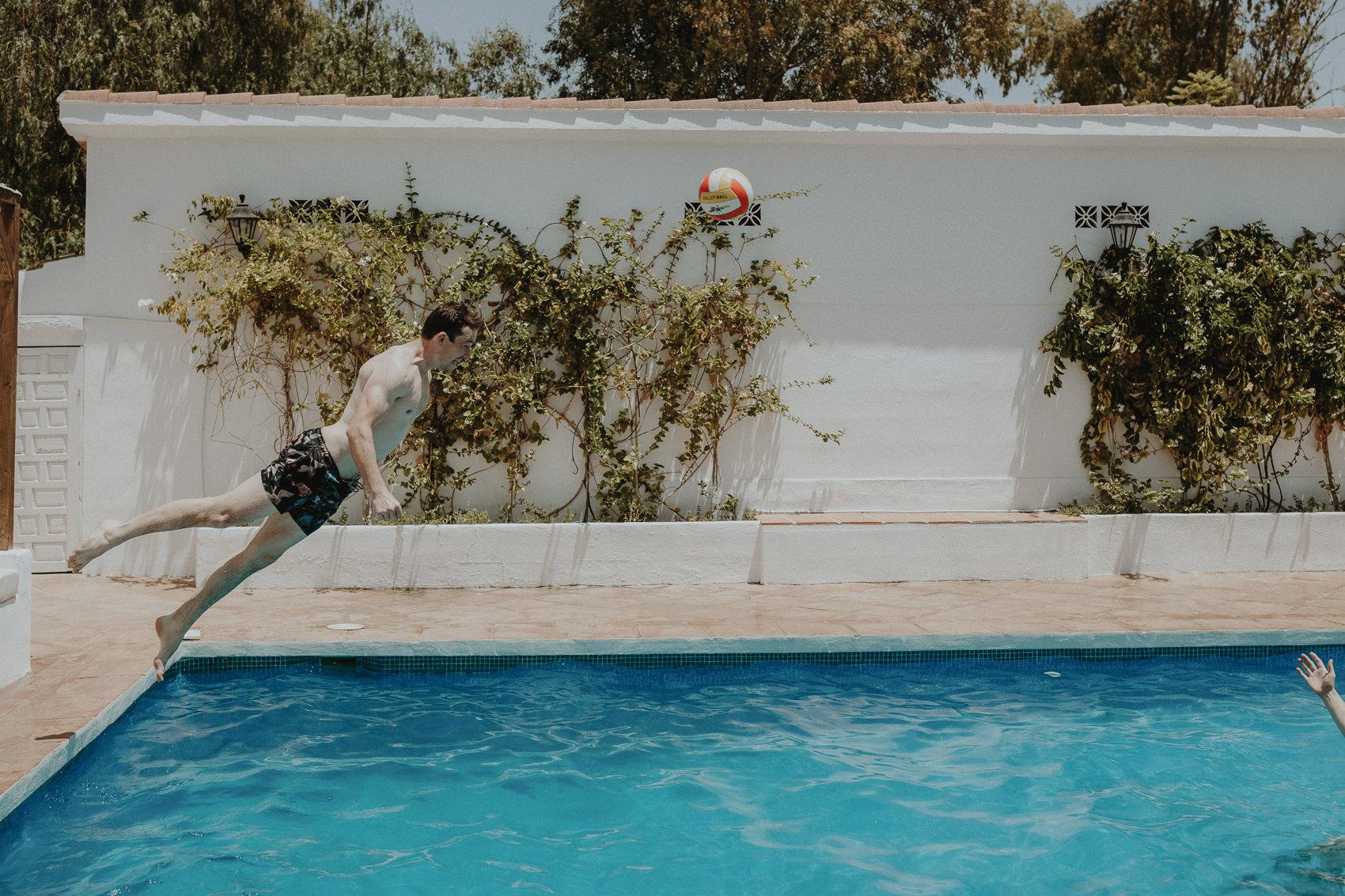 Sarah & Bill | Summer wedding at Cortijo Rosa Blanca | Marbella - Spain 25