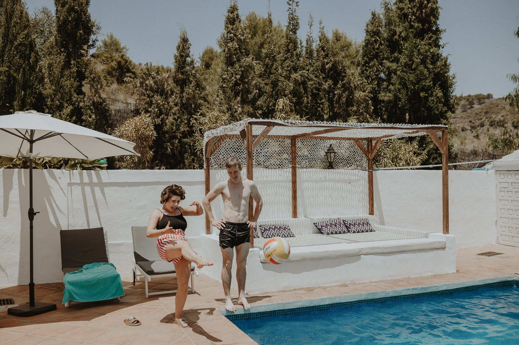 Sarah & Bill | Summer wedding at Cortijo Rosa Blanca | Marbella - Spain 26